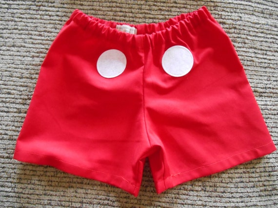 & Mickey Mouse Costume shorts size 0-3 months through size 6