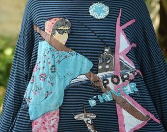 Applique French Sweatshirt