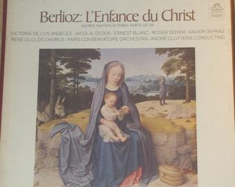 Berlioz L'Enfance Du Christ Gedda ClutensVinyl Classical 2LP Record Box Set