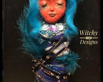 Spirit Doll, OOAK Art Doll, Poppet, Spirit Vessel, Prayer, Mixed Media Doll, Goddess Doll, Witch Doll, Horror Doll, Pagan Doll, Goth Doll
