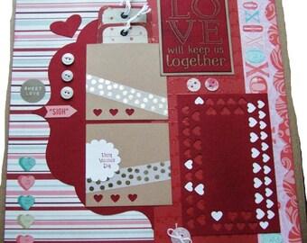 Best wedding love scrapbook layouts images