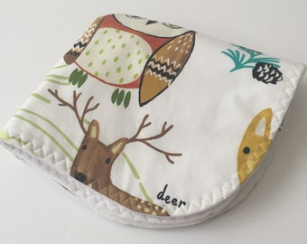 custom baby lovey/blanket ~ nature trail ~ chic couture ~ baby accessories ~ custom baby lovey/blanket from lillybelle designs