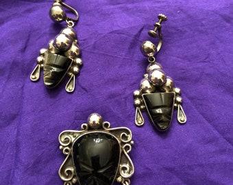 Vintage gold sheen obsidian