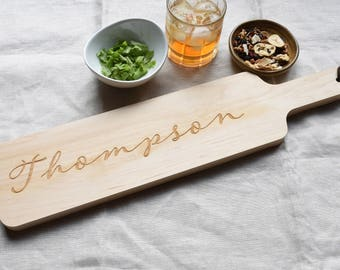 Personalized Board. Engraved Board for Wedding Gift. Gift for Mom. Housewarming Gift.