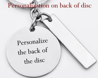 Add on - Personalize back of disc, key chain, necklace, etc...