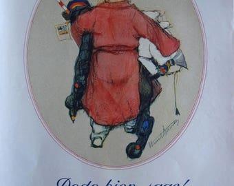press advertising - milk baby Nestlé 1933 REF. 36680