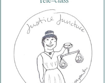 Justice Juncture Teleclass Recording and Workbook - self-development class using the tarot archetype of Justice