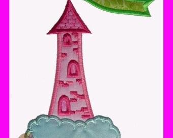 Dream Castle Applique design