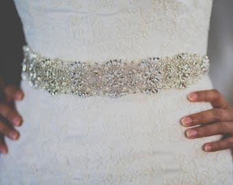bridal sash, bridal satin ribbon belt, belt for wedding dress, wedding sash