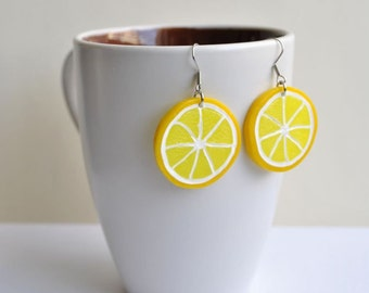 Lemon Earrings - Gifts for her