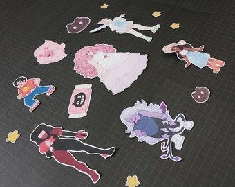 Steven Universe Sticker Set - Mini