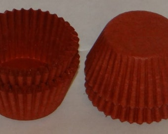 FREE SHIP! Red Candy Cups Candy Making Supplies Size # 4 Use with truffles, caramels, etc!