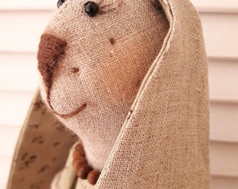 Rabbit Evelyn, Bunny, rabbit hand made