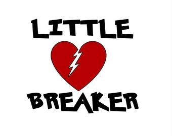 Little Heart Breaker Decal