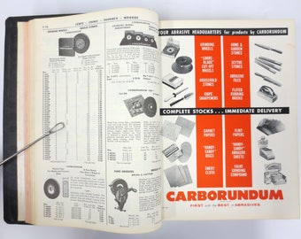 Vintage 1950's Hardware Tools Catalogue Lewis Montreal, Wholesale Hardware Store