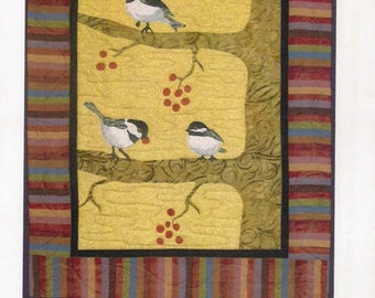 Chic Chickadee pattern by Log Cabin Quiltworks
