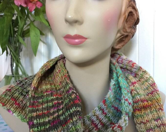 Insouciant Studios Amazing Happy Stripey Knit Scarf