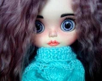 Custom Blythe doll, ooak