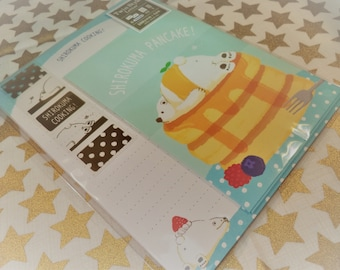 Kawaii 19 Pc. Shirokuma Cooking! Letter Stationery Set  great for Scrapbooking, Notes, Snail Mail, Pen pal, School, Paper, Stationery, Diy.