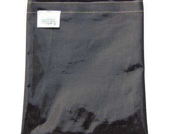 Sandwich Bag Reusable Food Grade /Food Pouch Sleek Black Ink