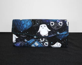 Doctor Who Adipose Tardis Necessary Clutch Wallet