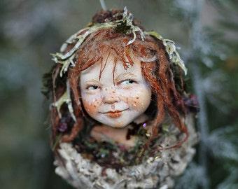 Pixie girl Qiri handmade decoration