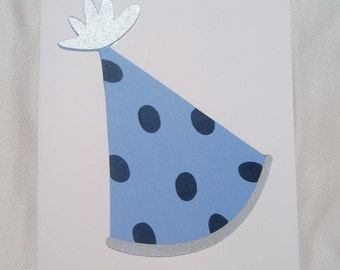 Birthday Party Hat Card