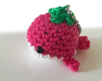 Strawberry Fish Amigurumi