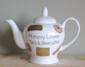 Personalised Biscuit Teapot