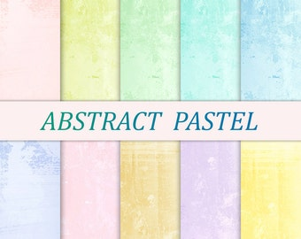 Pastel digital paper pastel Watercolor digital paper watercolor 12x12 scrapbooking printable paper Card making Pink digital paper