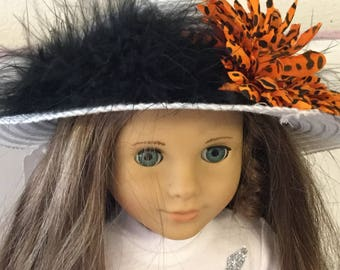 """Hat#11 doll clothes that fit 18"""" like the American girl"""