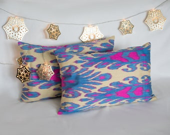 "Ikat Cushion Cover ""Arusak"""