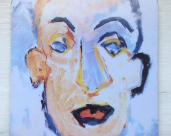 Bob Dylan - Self Portrait coaster