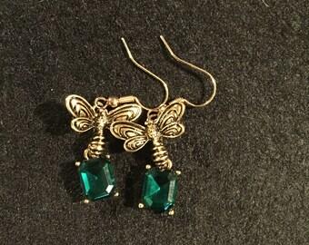 St Patrick's Day Earrings.