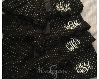 Girls Monogrammed Pajamas/ Girls Monogram Pajama Shorts