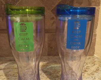 Insulated Beer sippy cup