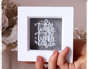 Twinkle Twinkle Little Star, Nursery Decor, New Baby Gift