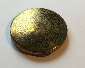 Le Rage Powder Compact Vintage from 1950s made in England