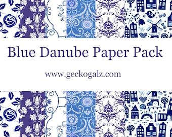 Blue Danube Mini Paper Pack