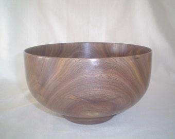 Walnut Wood Salad Bowl