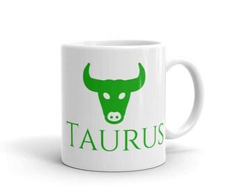 Zodiac Mug: Taurus