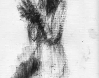 Haunting Fine Art Figure Drawing, No. 58