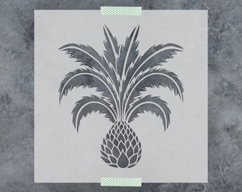 Palm Tree Stencil - Reusable DIY Craft Stencils of a Palm Tree