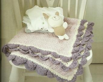 Crochet Baby Blanket PDF Crochet Pattern Instant Download