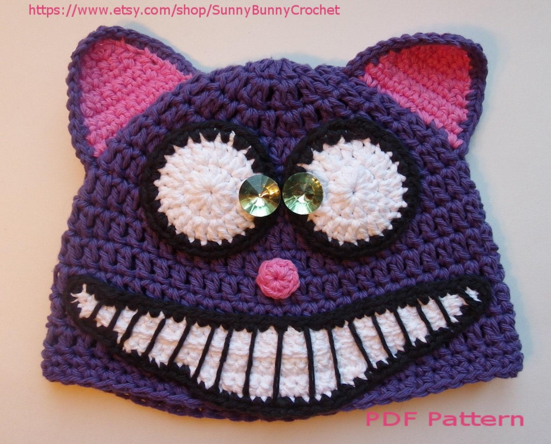 Animal hat pattern cat crochet hat halloween hat tuque zoom bankloansurffo Gallery