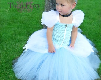 Cinderella Tutu Dress, Cinderella Dress, Cinderella Costume, Cinderella Tutu, Princess Costume, Cinderella Birthday Outfit
