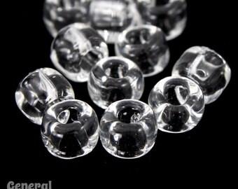 6/0 Transparent Crystal Japanese Seed Bead (40 Gram) #JAF007