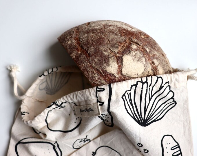Good Food // Cotton Bread Bag