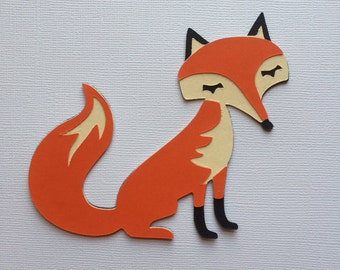 Fox Paper Piecing