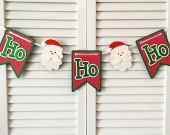 Ho Ho Ho Banner, Santa Banner
